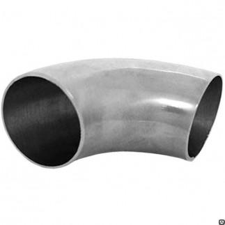 Отвод стальной оцинкованный к/из шовный Ду25