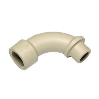 Отвод длинный Ekoplastik в-н 90* 25 мм