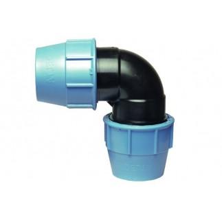 Угольник Unidelta для ПНД труб 32 мм